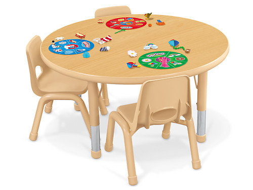 Heavy Duty Adjustable Round Tables At, Round Table Irvine
