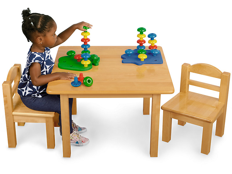 Toddler Hardwood Table Chairs Set At, Toddler Table And Chairs Set