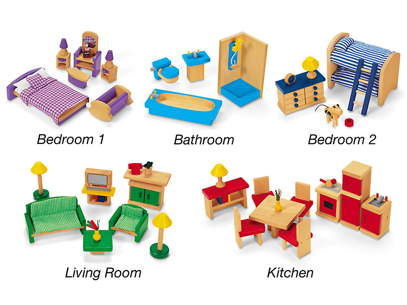 Play All Around Dollhouse Furniture At, Pictures Of Dollhouse Furniture