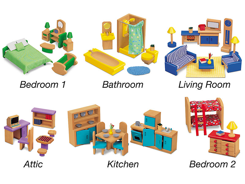 Classic Dollhouse Furniture At, Pictures Of Dollhouse Furniture
