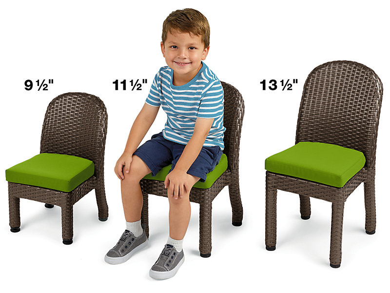 Outdoor Chairs At Lakes Learning, Children's Patio Furniture